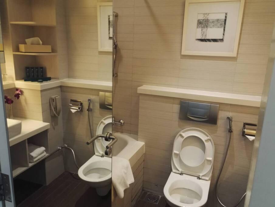 bathroom is very clean