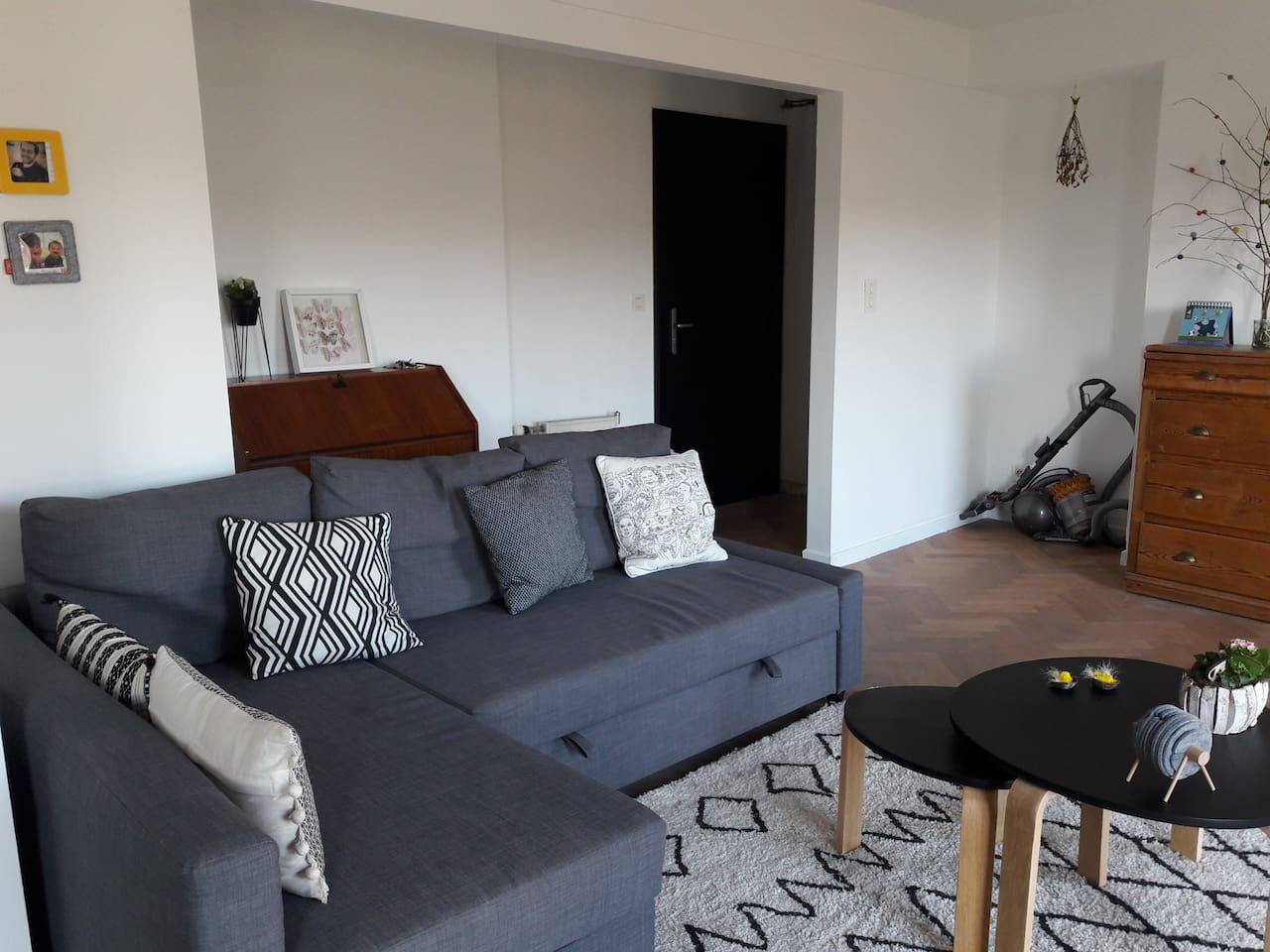 Appartement calme - Grande terrasse avec vue