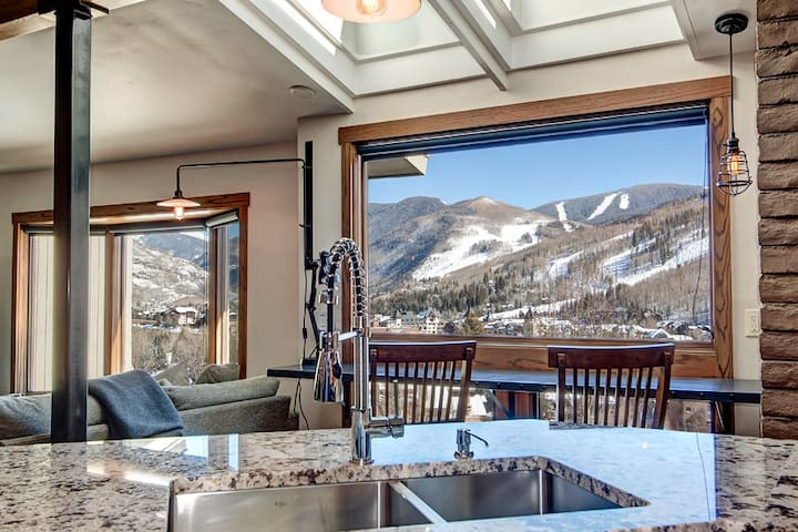 Sun and mountain views all day.  - Vail - Casa