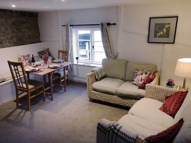 Luxury apartment in 16C town house - Moretonhampstead - Daire