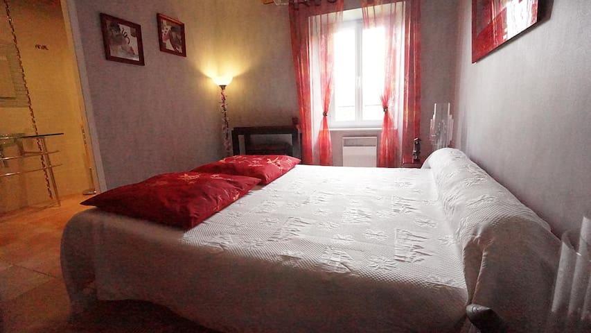 Charmante chambre d'hôte - Aussillon - Hus