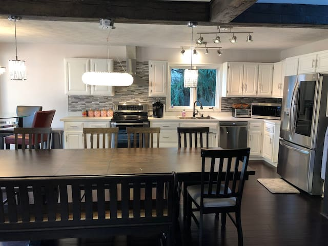 Eat-in kitchen with plenty of space and seating!