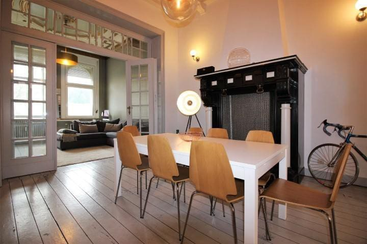Stylish loft with garden Chatelain/St Gilles - Saint-Gilles - Loft