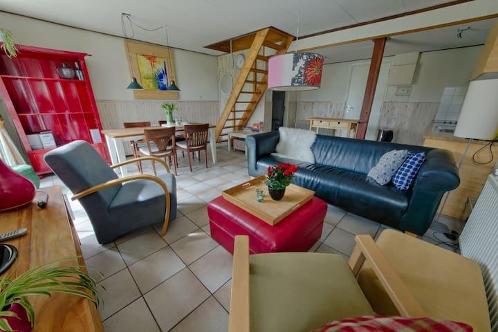 Boerderij appartement 300m van zee - Groote Keeten/Callantsoog - Flat