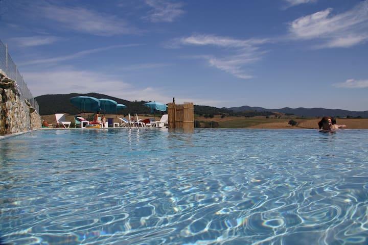 Appartamento 3 camere con piscina - Pescia Fiorentina - Apartament