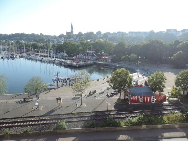 Der wahrscheinlich schönste Ausblick Flensburgs