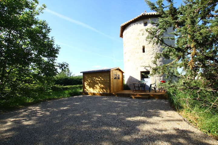 Joli moulin du 17ème siècle