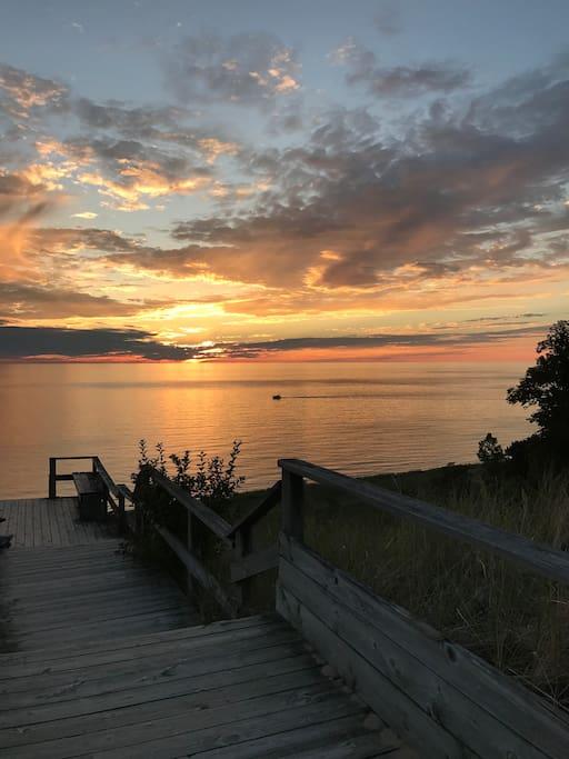 Laketown Beach on Lake MI