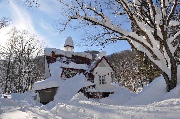 和田野ハウス白馬 Wadano House Hakuba - Ski in/out