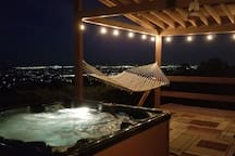 Porch, Scenic Lounge Area, and Hot Tub