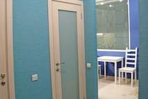 A nice modern studio on Vasilevsky Island