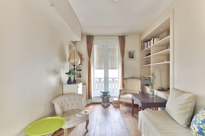 Apartment for 2 ** 10th district PARIS **