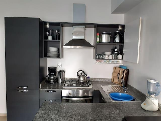 Bel appartement bien ensoleillé .