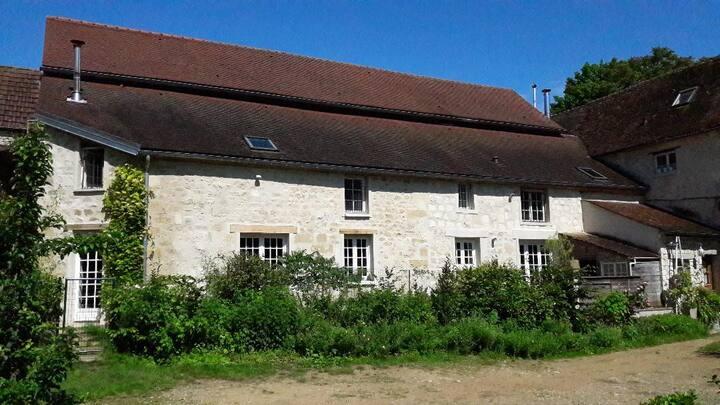 Chambres, ferme des 4 tours, Parc du Vexin.