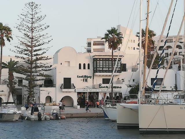 Appartement de charme au Port EL KANTAOUI
