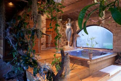 Vlastné kúpele v Chianti