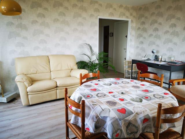 Toulouse Cité de l'Espace  logement  2 chambres