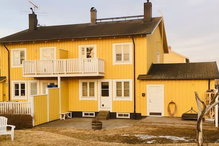 """Umeå Colorful Townhouse"""
