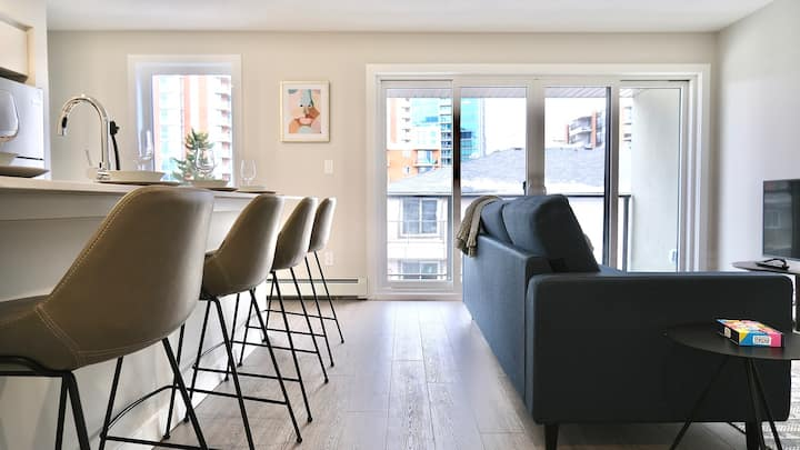 BRAND NEW - Abstract Condo In Heart Of Mission