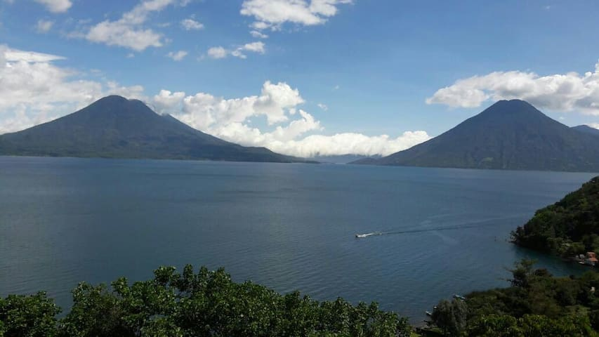 Casita Alta Vista - Great view over Lake Atitlan - Santa Cruz la Laguna - Apartemen