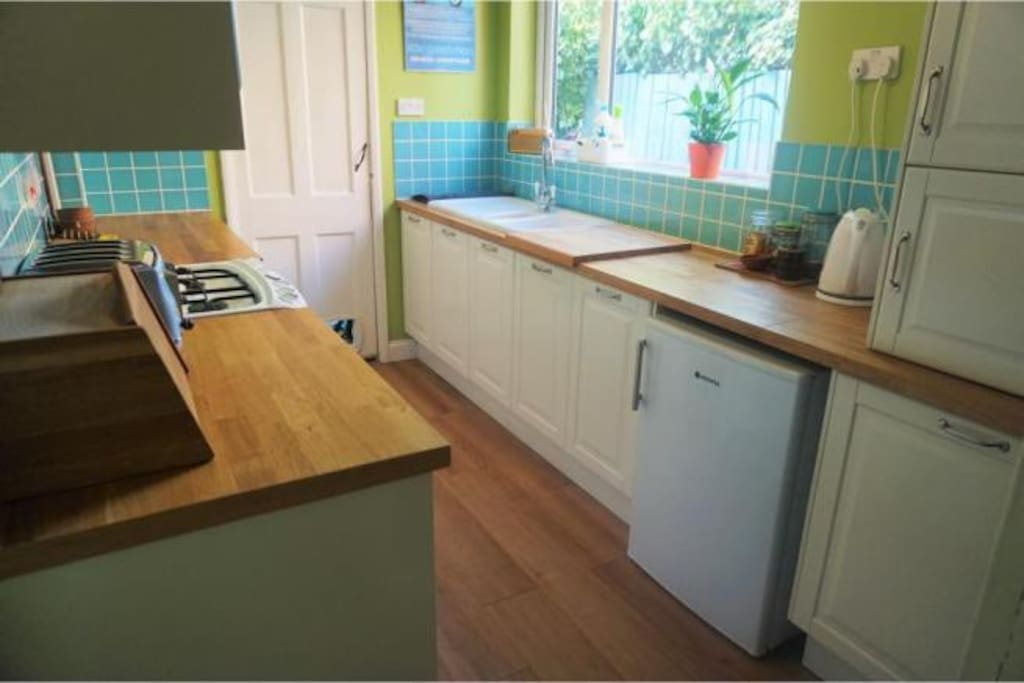 The kitchen is all yours!