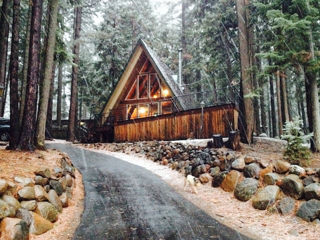 Cute Cabin in the Pines - Westwood - Huis
