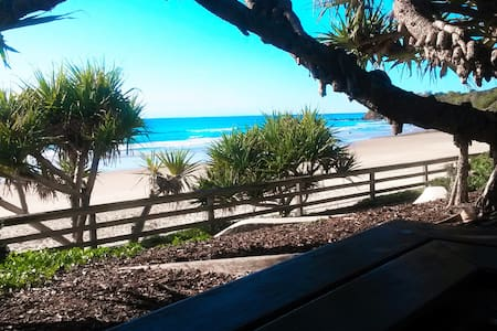 Seaside & Mountain Retreat - private entry - Mount Coolum