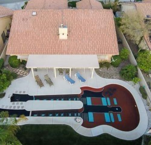 Guitar Pool Casita - Cathedral City - Gjestehus