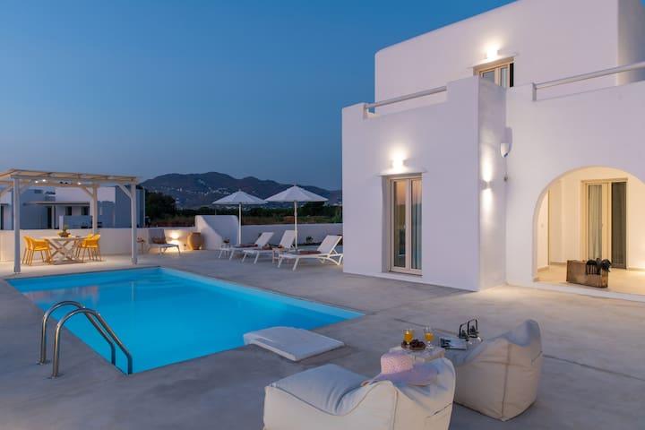 Naxian Lounge Villas | Villa I with private pool