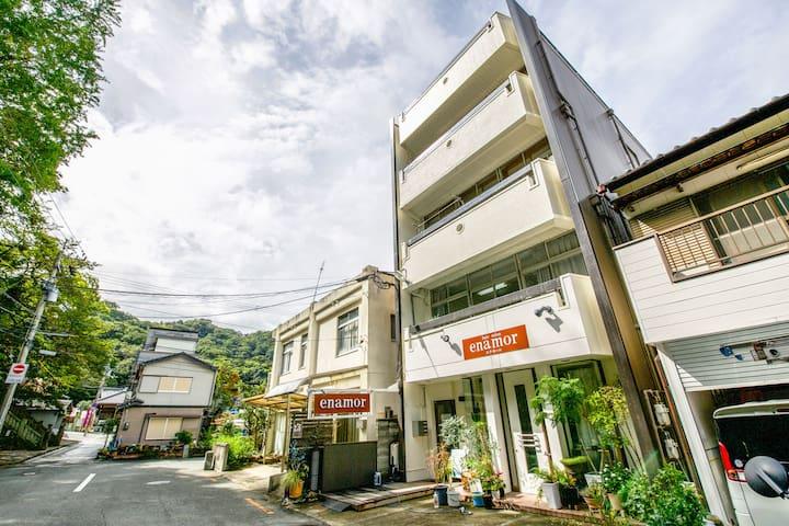 Mixed dormitory  in Tokushima center(6beds)
