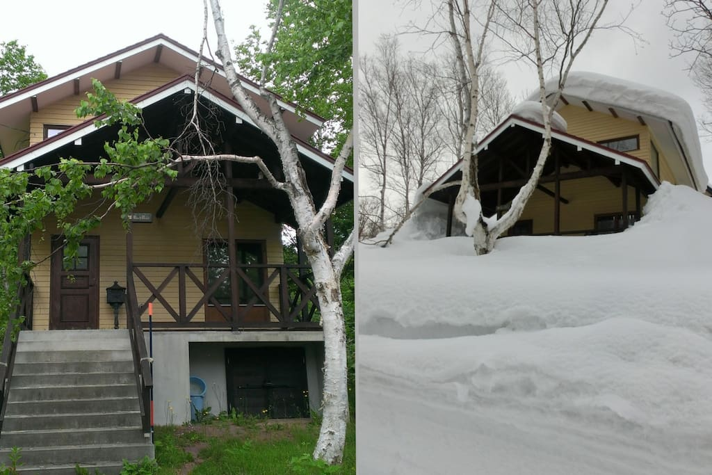 What a difference 6 months can make! Summer vs Winter in Niseko!