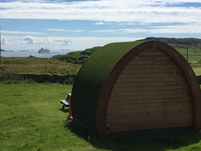 Maol Farm - Iona, self catering pod - Isle of Iona - Cabana