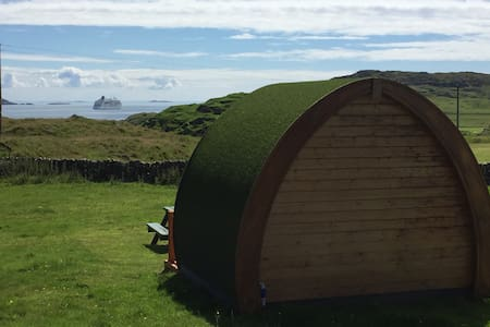 Maol Farm - self catering pod - Isle of Iona - Бунгало
