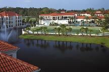 Tennis Complex on Resort