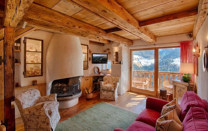 Zauberhafter Hof im Herzen der Dolomiten