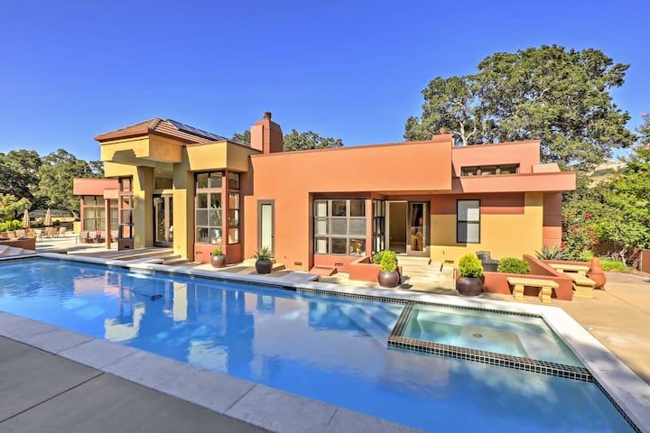 Lavish Corral De Tierra-Monterey Home w/Bocce Ball