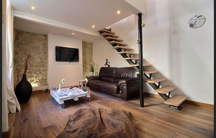 Superbe Loft St Victor/Roucas Blanc