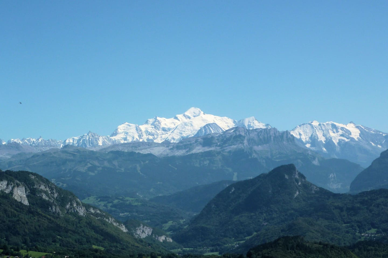 Uitzicht Mont Blanc (4807m)