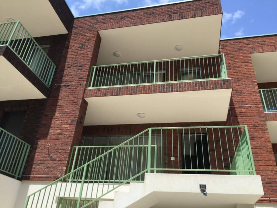 двухуровневый апартамент