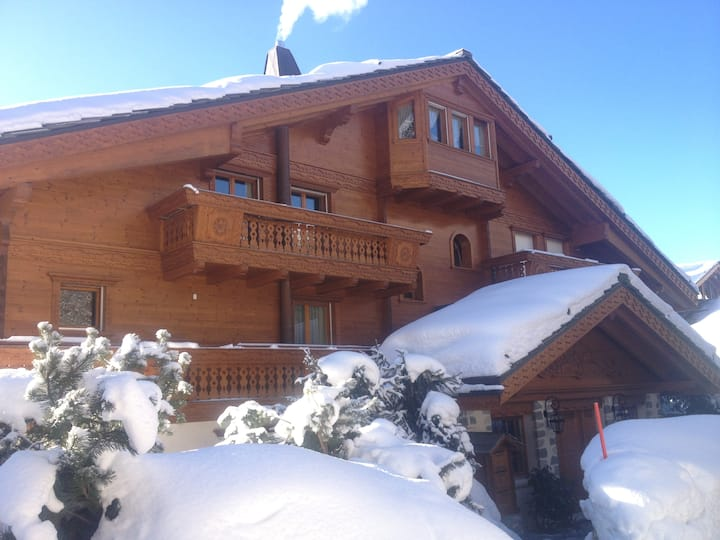 Luxury apartment in the center of Crans Montana