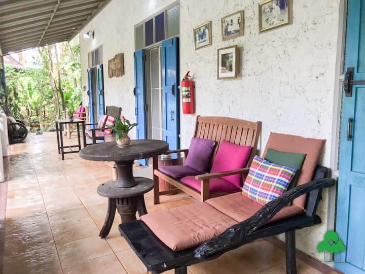 Leelawadee1-Decent room overlooking jungle view
