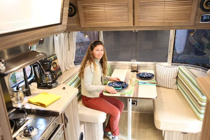 The Airstream at Willow Camp