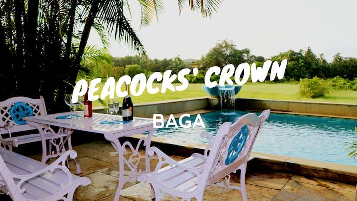 PEACOCKS CROWN 5BHK Baga Luxury Villa Private Pool