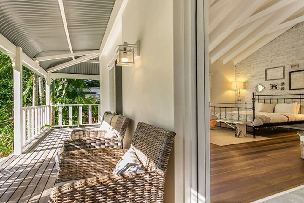 Imagine yourself with a morning coffee or an afternoon drink, taking in the beauty of our garden from the peaceful, restful wrap around verandah.