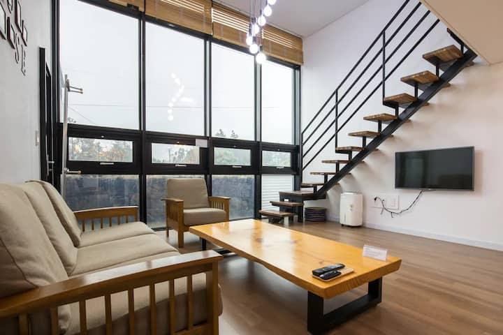 The SALDA Loft FamilyHouse II, Exclusive area 90m²