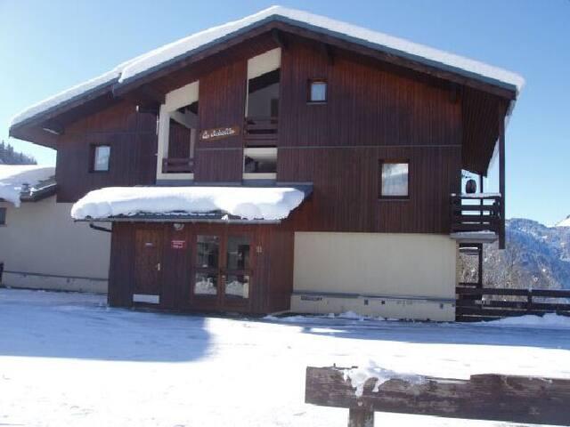 Appartement 4/6 pers proche cœur du village