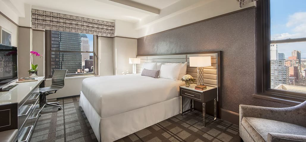 Premier King Room close to Central Park & 5th Ave