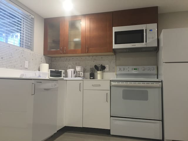 Newly Renovated 1BR Basement Suite - Coquitlam