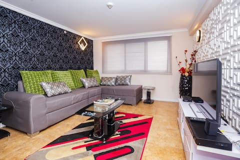 Lovely 2 bedroom apartment with panoramic view