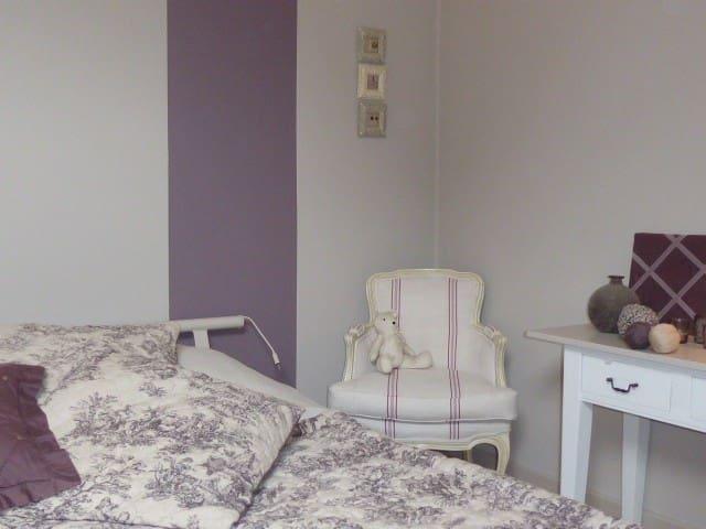 Chambre cosy dans maison de charme